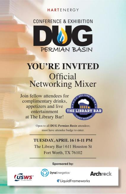 DUGPB Mixer Invite Tuesday